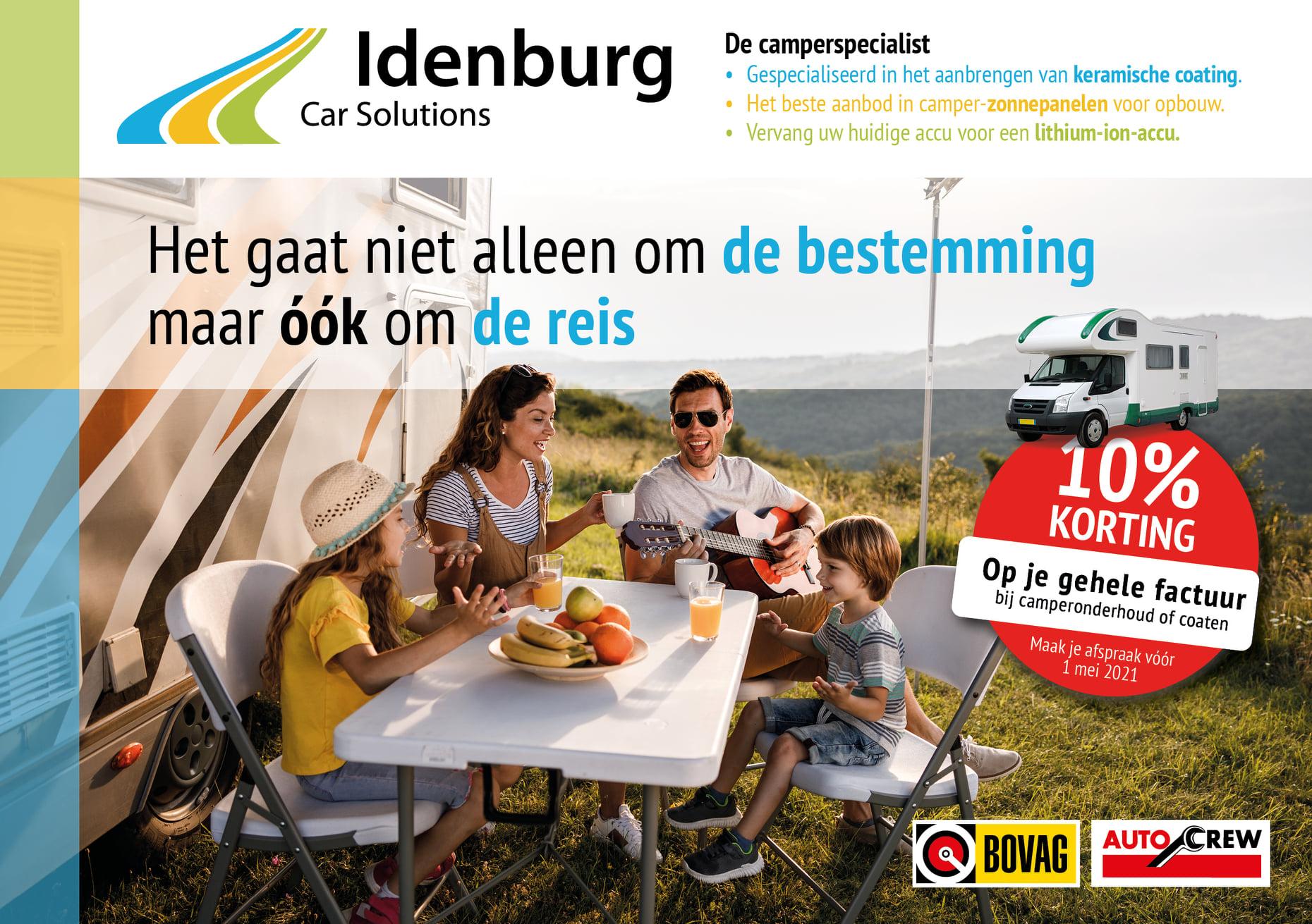 camper actie idenburg car solutions 2021